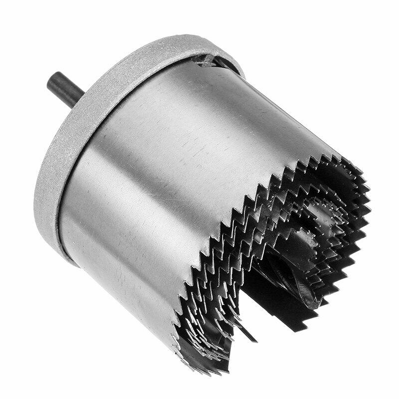 7pcs 26mm-63mm Bi-metal Hole Saw Cutter Metal  Passette Woodworking Drill Bits