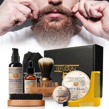 SEFUDUN spot beard care tool men's beard care repair kit Hu ointment comb bristle