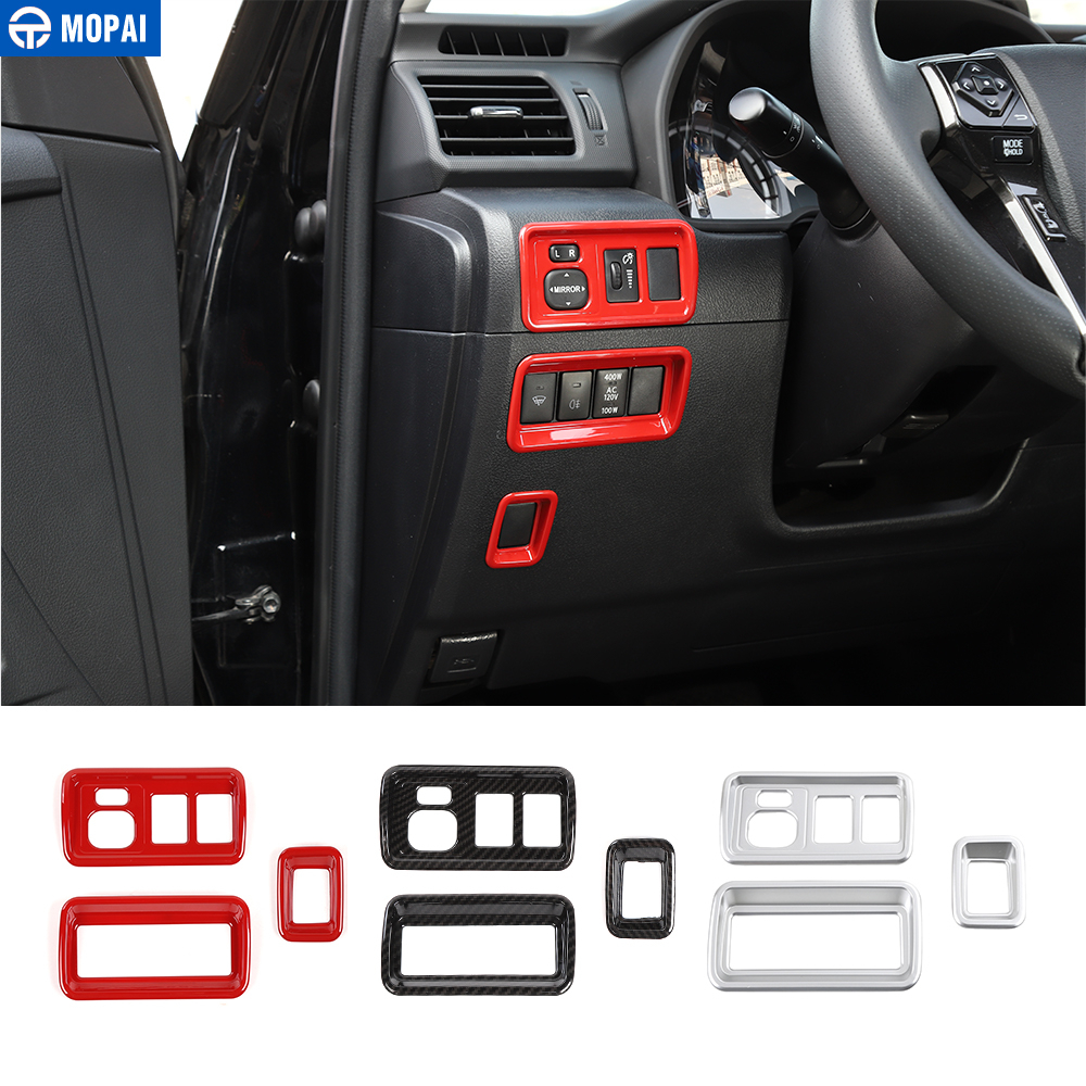 MOPAI Interior Mouldings for <font><b>4Runner</b></font> <font><b>2010</b></font>+ Car Rearview Mirror Adjustment Switch Decoration Cover for <font><b>Toyota</b></font> <font><b>4Runner</b></font> <font><b>2010</b></font>+ image