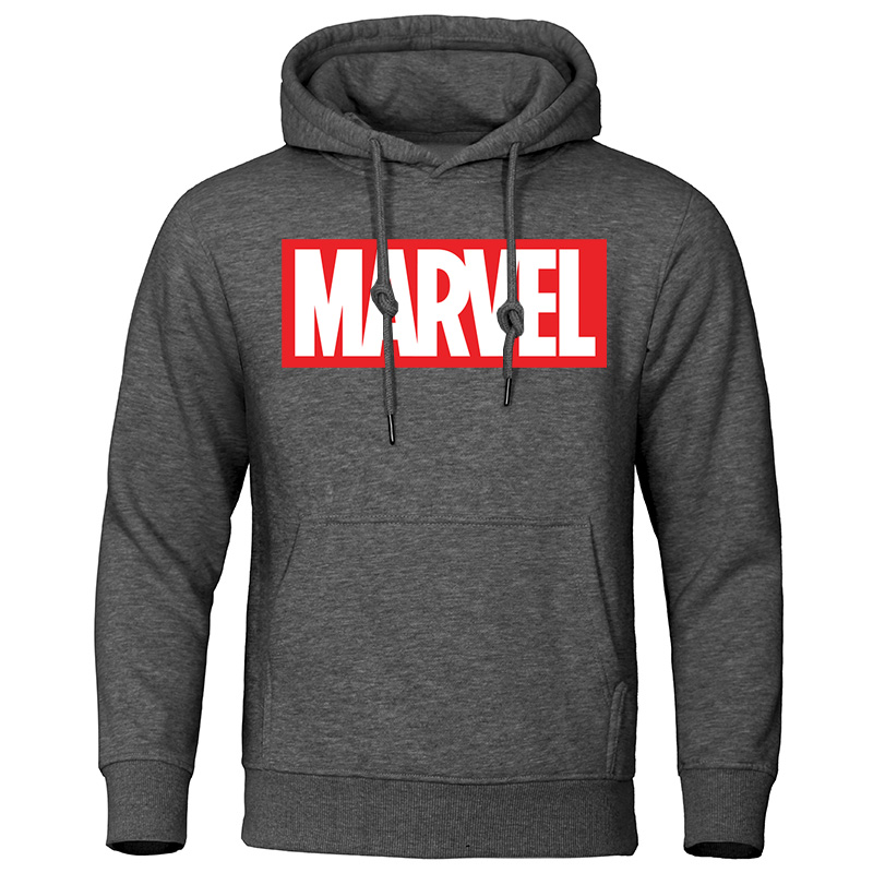 MARVEL Print Male Hoodies 2019 Autumn New Warm Men's Hoodie Sweatshirts Casual Tracksuit Men Streetwear Fashion Brand Pullover