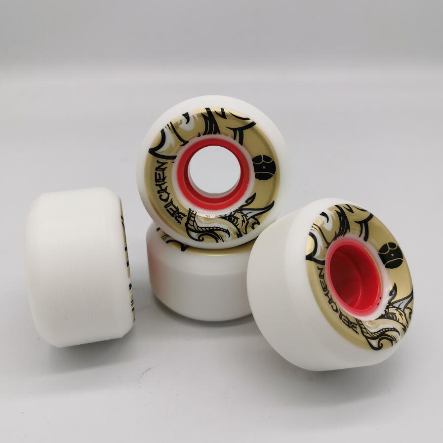 Good Quality Conical Shape Skateboard Wheels 56mm Skate Wheel 80% Rebound 56*33mm 78AA Wear-resisting Skating Wheels