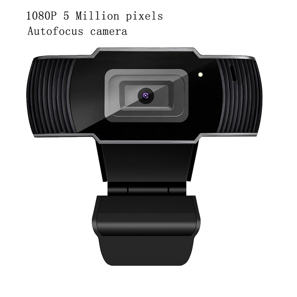 Webcam 1080P HDWeb Camera 5 Million Pixels High Quality Six Layer Glass Lens Autofocus Webcams For Skype Computer Desktop