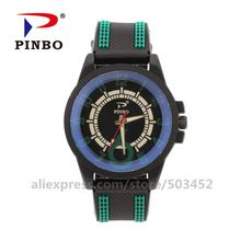 100 шт./лот чксы модные наручные часы мужские большие цифры шкала Erkek Kol Saat красная указка Бизнес Спорт мужские часы