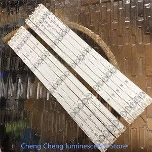 Image 3 - 10PCS/lot  FOR Changhong 49 inch LCD TV backlight strip use LB C490F14 E4 L G1 DL1 49D2000 LB49006  C490F15 E2 L 10LED=97CM  3V