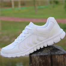 spring autumn new students casual washed denim canvas shoes womens Sneakers Platform march