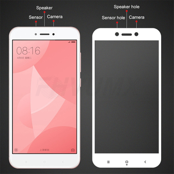Protective Glass on the For Xiaomi Redmi 4A 4X 5A 5 Plus 6 6A 7A Redmi Note 4 4X 5 Pro Tempered Glass Screen Protector Film Case 2
