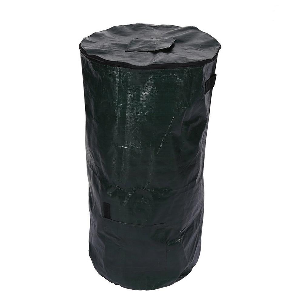 2-Size Kitchen Garden Yard Compost Bag New Organic Waste Bag Kitchen Waste Disposal Organic Compost Bag Eco-friendly Storage Bag