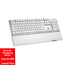 Gamesir GK300 Putih Wireless Mechanical Gaming Keyboard 104 TTC Red Switch untuk Windows/MAC OS/Ios/Android untuk game FPS(China)
