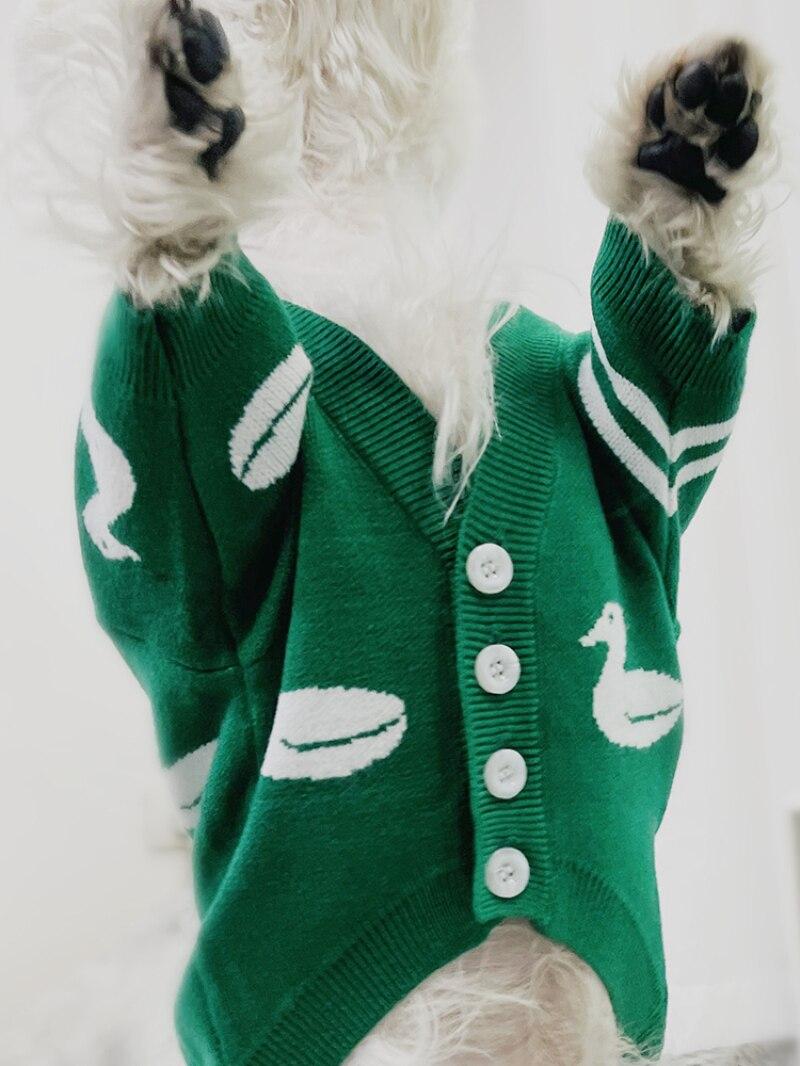 bichon schnauzer traje roupas de cachorro outfit
