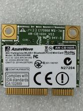 AzureWave AW-CB160H BCM94360HMB BCM94360 Half Mini PCI-express Bluetooth4.0 + 802.11AC 867 Мбит/с беспроводная Wi-Fi WLAN карта