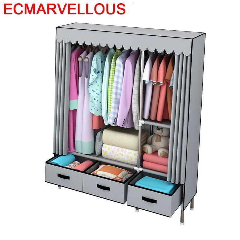 Armario Tela font b Closet b font Storage Kleiderschrank Meble Mobili Mueble De Dormitorio Cabinet Guarda