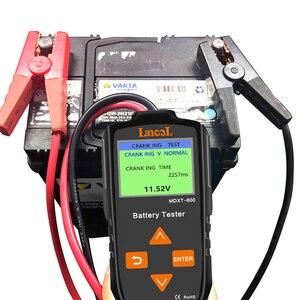 Image 5 - Lancol 12v testador de bateria de carro no sistema de manivela e sistema de carregamento ferramenta de verificação 40 2000 cca automotivo mau ferramenta de teste de célula