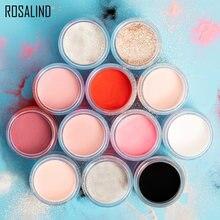 ROSALIND – poudre acrylique à paillettes pour extensions d'ongles, constructeur à trempage, décoration sculptée pour manucure