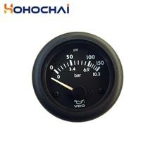 Diesel Engine Oil Pressure Gauge VDO Oil Pressure Meter 12V/24V Optional