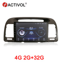 HACTIVOL 2G+32G Android 9.1 Car multimedia for Toyota Camry 2002 2006 car dvd player gps navigation car accessory 4G internet