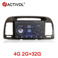 HACTIVOL 2G+32G Android 9.1 Car multimedia for Toyota Camry 2002-2006 car dvd player gps navigation car accessory 4G internet