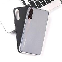 Для UMIDIGI X UMIDIGI A5 pro Чехол для телефона матовый корпус ТПУ мягкий силиконовый грязестойкий UMI X Матовый черный чехол для телефона мягкий чехол
