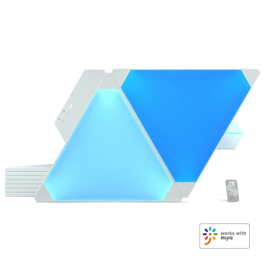 Original Nanoleaf Full Color Smart Odd Light Board panels Work with Mijia for Apple Homekit Google Home 9pcs 1box