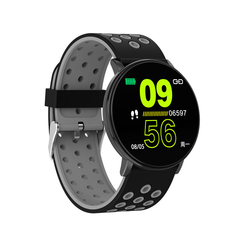 Smart Watch Men Blood Pressure Smart Clock Round Waterproof Smartwatch Women Sport Health Bracelet Watch Smart For Android Ios