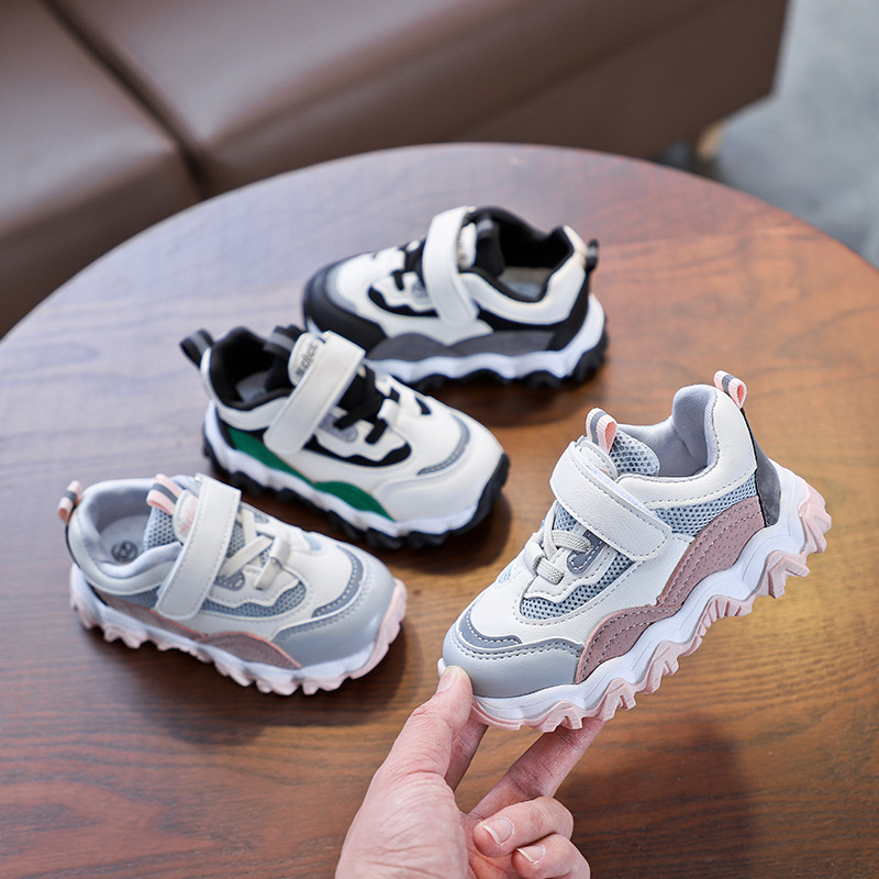 Kids Shoes For Little Girl Shoes Pink 2020 Patch Fashion Shoes Casual Tenis Infantil Children Trainers Baby Boys Sneakers C12292