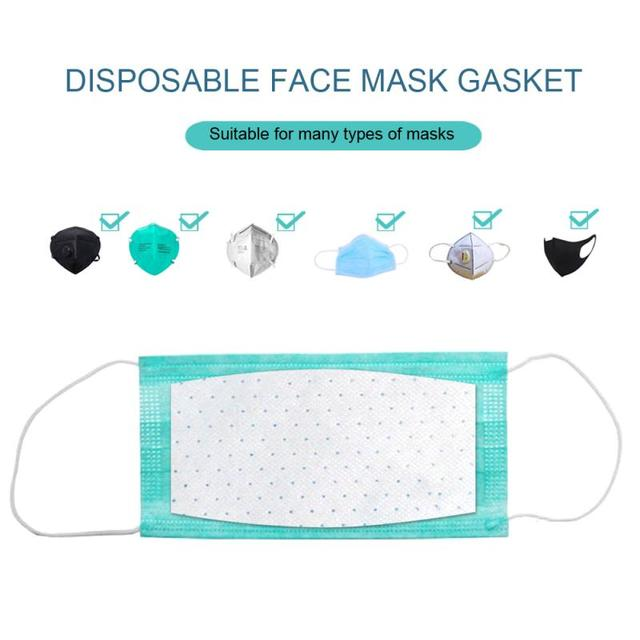Unisex High Efficiency Filter Non-woven Anti Bacteria Proof Flu Face Masks Carbon Filter Windproof Mouth-muffle Masks 1