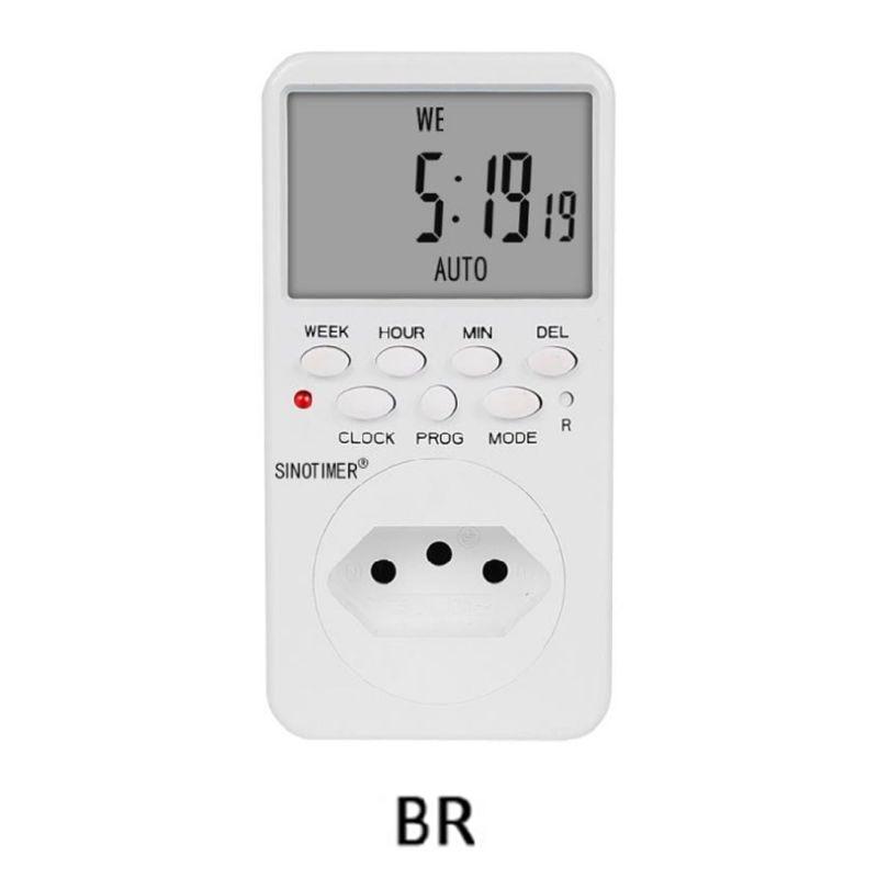 Cronómetro digital electrónico toma AC230V relé de tiempo programable UE/EE. UU./REINO UNIDO/ISR/BR/IT Empleado escaneando huella dactilar en la máquina para registrar el tiempo de trabajo 2000 usuarios más baratos asistencia máquina TimeTrak sistemas