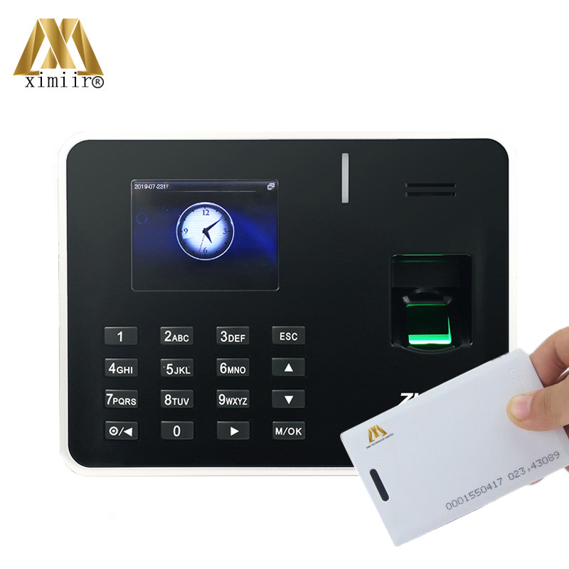 TCP/IP Biometric Fingerprint Time Attendance ZK K50 With RFID Card Time Attendance Machine Fingerprint Time Clock