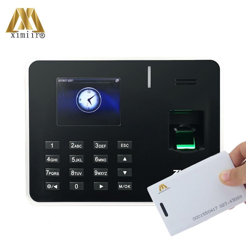 TCP/IP Biometric Fingerprint Time Attendance ZK K50 With RFID Card Time Attendance Machine Fingerprint Time Clock