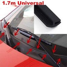 Уплотнительная лента для лобового стекла автомобиля, черная декоративная защитная полоса