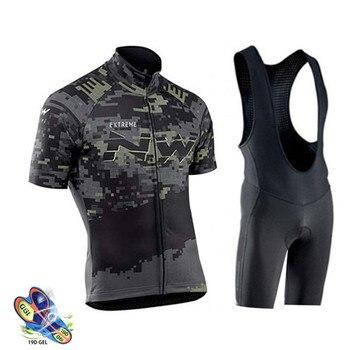Camisa de ciclismo 2020 northwave verão men ciclismo roupas mtb maillot ropa ciclismo secagem rápida manga curta roupas bicicleta nw 1