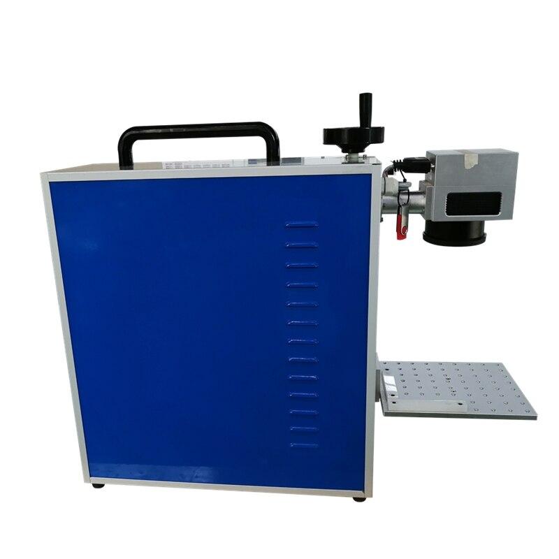 30W 20W 50W Fiber Laser Printing On Metal Laser Marking Machine On Metal