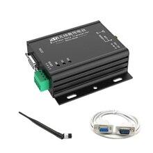 1 PCS Industrial Wireless Data Transfer Unit DTU 433MHz 2.2Km Modbus Wireless Radio Stable Transmitter Module with RS232/RS485 usr gprs232 701 2 rs232 to gprs dtu data transmit unit w adapter