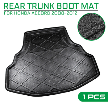 Car Floor Mat Carpet For Honda Accord 2008 2009 2010 2011 2012 Rear Trunk Anti-mud Cover image
