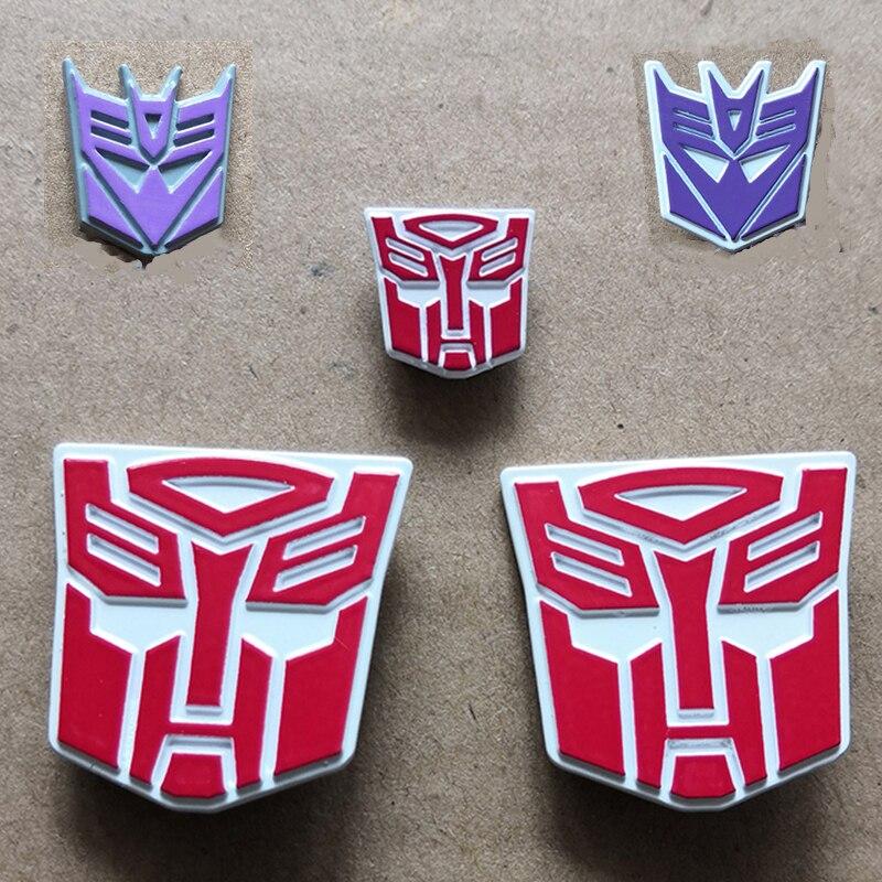 WeiJiang Autobot Decepticons логотип MPP10 MPP27 MPP36 железная кожа Оптимус плечо стандартный металлический рельефный логотип для ПВХ экшн-модели