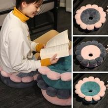 Cushion Floor Children's Futon Toy Petal Tatami Plush-Pillow Room-Decor Round Japanese-Style