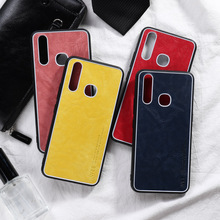 Luxury PU Leather Case For Vivo Z5X Case Silicon Shockproof Phone Back Bumper For Vivo IQOO NEO S1 V15 Pro Y17 Y91 Cover Coque for vivo v15 pro case carbon fiber cover shockproof silicon phone case for vivo v15 s1 y17 y3 cover full protection bumper