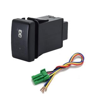 Image 3 - 1PC fan speaker Front Fog Light Rearview mirror folding Driving recorder radar Switch Button For Mazda 5