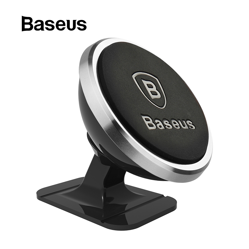 Baseus Universal Car Phone Holder 360 Degree GPS Magnetic Mobile Phone Holder For IPhone X 8 Samsung Air Vent Mount Holder Stand