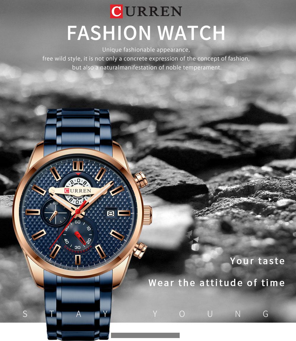curren 8352 Watches Mens