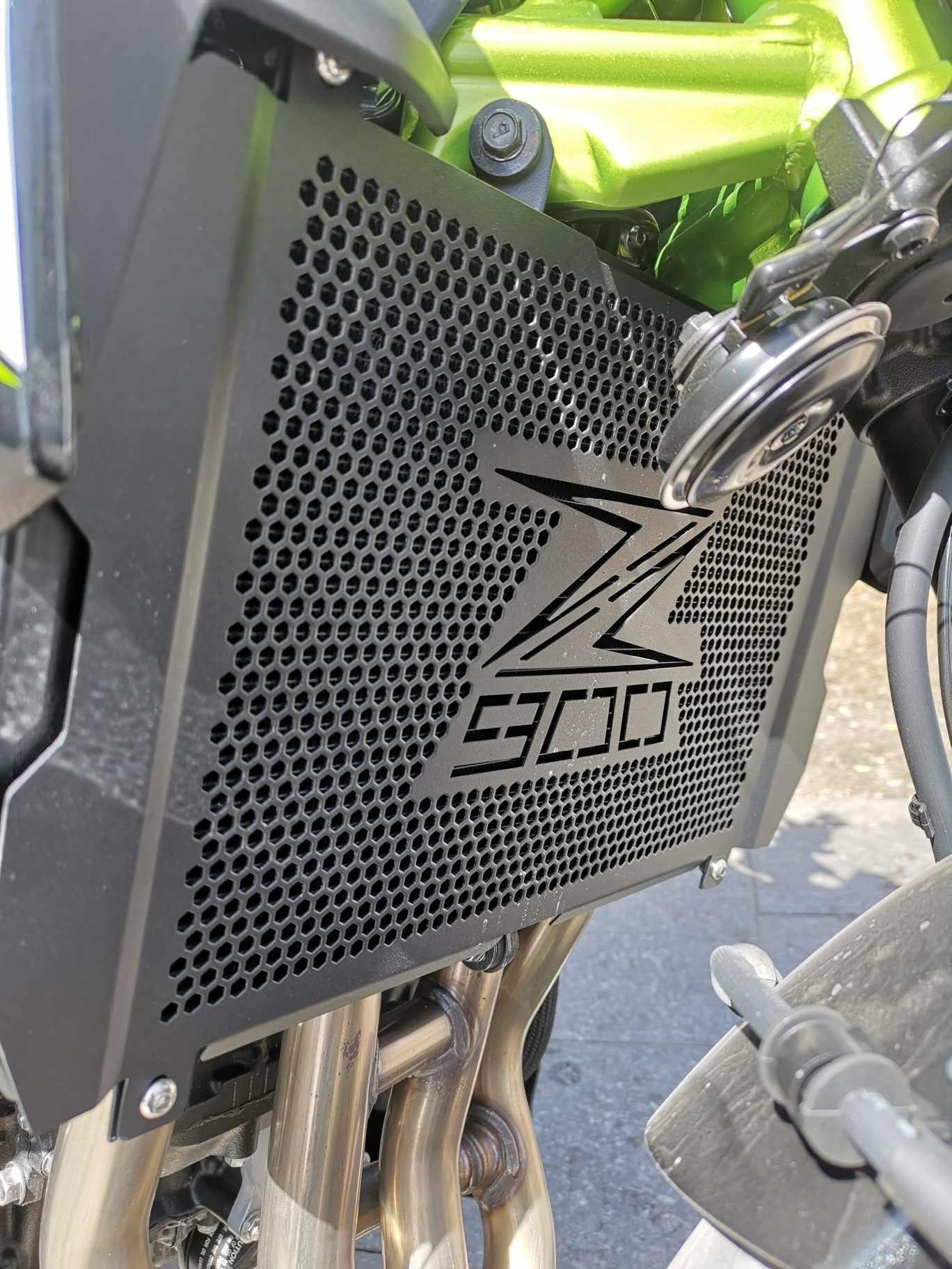 Sepeda Motor Radiator Grille Guard Cover untuk Kawasaki Z900 Z 900 2017-2019 2018 2020 Aksesoris Tangki Net Perlindungan