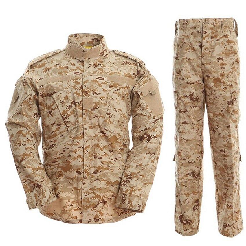ACU Multicam Camouflage adulte mâle sécurité militaire uniforme tactique veste de Combat Force spéciale formation armée costume Cargo pantalon