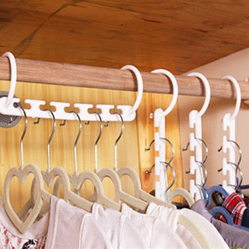 Вешалка для одежды, органайзер для одежды, 1 шт., многослойная вешалка для одежды, вешалка для одежды, Perchas Para La Ropa, крючок, вешалки - Цвет: 1 pc 23.5x2.5cm