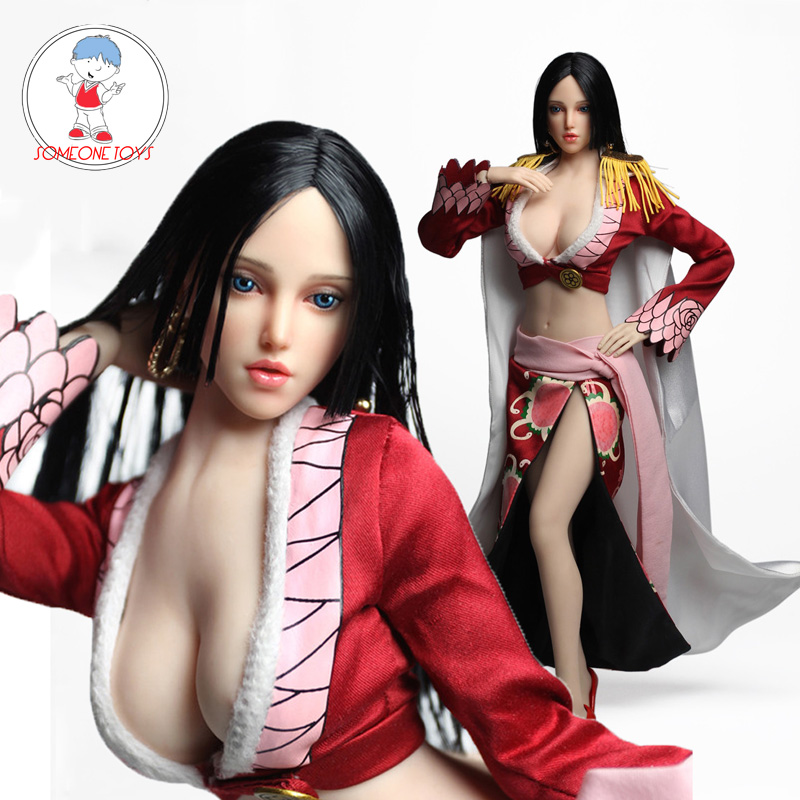 SUPER DUCK SET028 1//6 Cosplay Series ONE PIECE Beauty Female Head /& Clothes Set