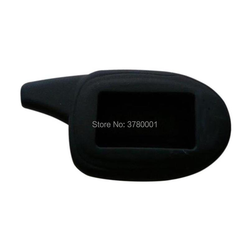 Silicone Key Case For Russian 2-way Car Alarm Keychain Scher-Khan Magicar 7 8 9 10 11 Lcd Remote Control Scher Khan M7 M8 M9 M10