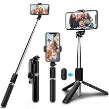 Bluetooth Wireless Selfie Stick Tripod Foldable Monopod Universal for Xiaomi Mi Redmi Huawei Honor iPhone Samsung Gopro Go Pro 9