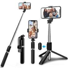 Bluetooth Draadloze Selfie Stok Statief Opvouwbare Monopod Universele Voor Xiaomi Mi Redmi Huawei Honor Iphone Samsung Gopro Go Pro 9