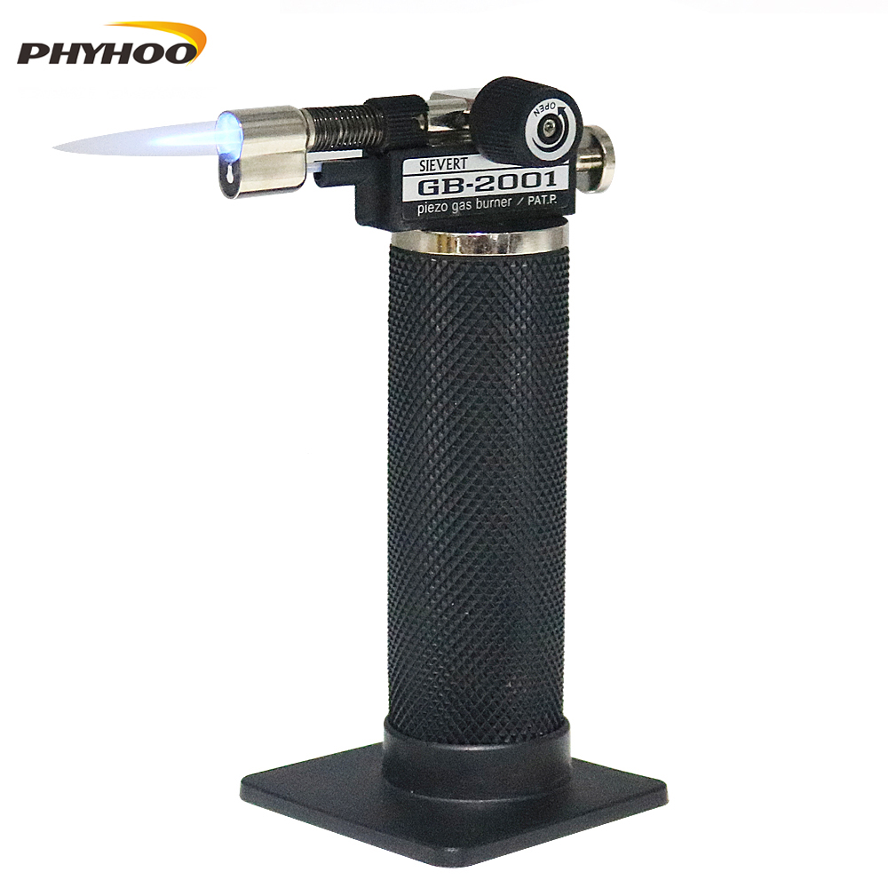 Professional Piezo Micro Gas JetTorch,1300c Celsius Flame Welding Torches Butane Lighter Torch Soldering Burning