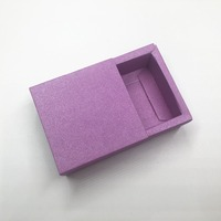 100pcs/lot kraft Paper Packaging Cardboard Box 6 color Small Packaging Gift Box Paper drawer Boxes Gift Jewelry Earring Boxes