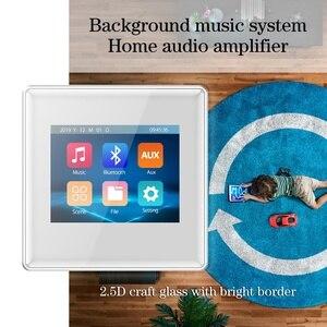Image 5 - Amplificateur mural à écran tactile, 2020 pouces, système audio domestique, système de musique de noël, nouveau produit 2.8