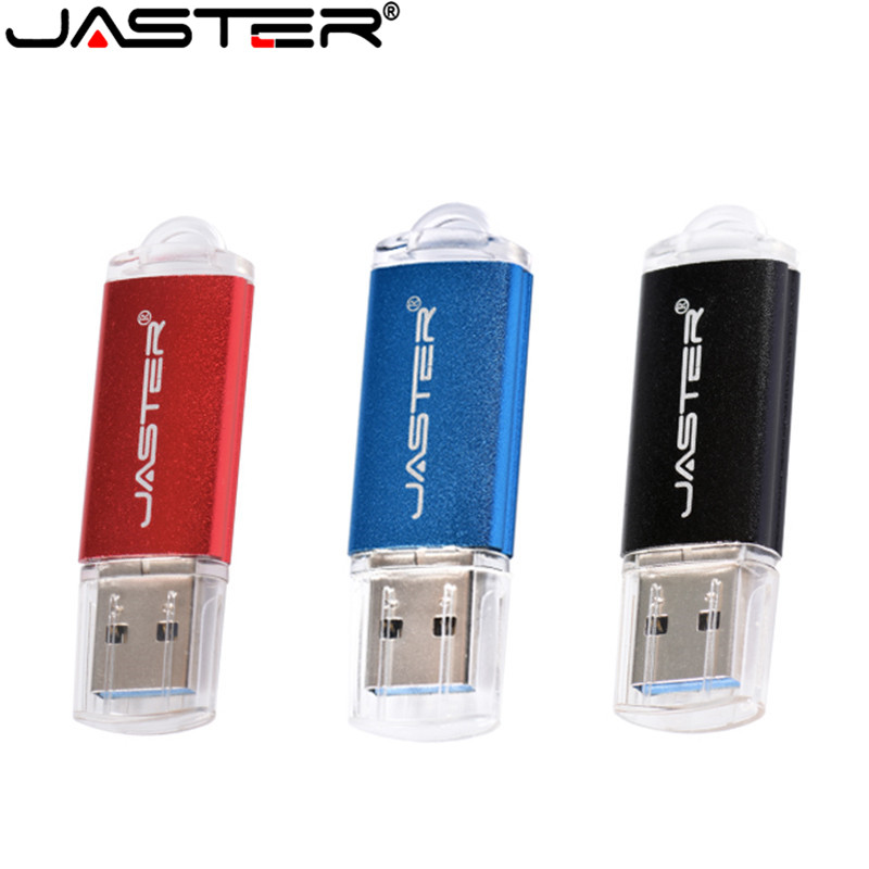 JASTER USB Flash Drive 128GB 64GB Mini Pen Drive 4GB 8GB 16GB 32GB Cle USB 2.0 Pendrive USB Stick Memory Disk Flash Drive